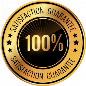 100 percent happy and satisfied customers from last 10 years.